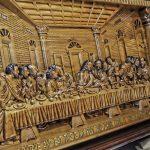 lukisan-ukir-yesus-perjamuan-terakhir